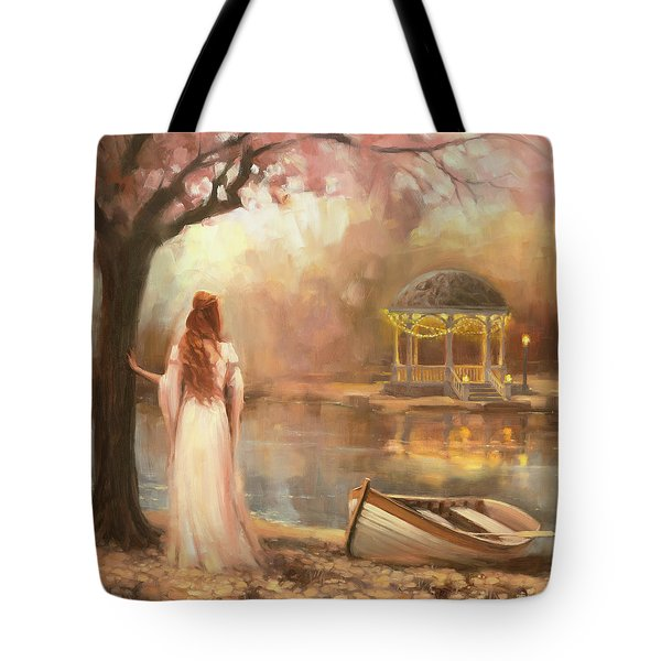 Tote Bag featuring the painting Timeless by Steve Henderson