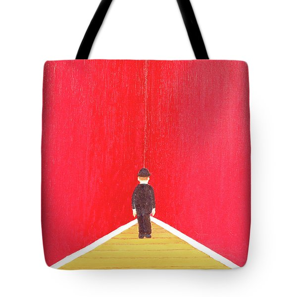 Tote Bag featuring the painting Timeout by Thomas Blood