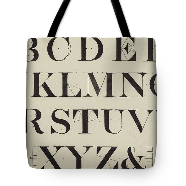 Times New Roman Tote Bag