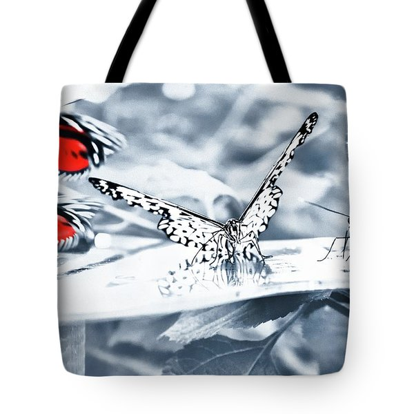 Times Of Butterflies Tote Bag