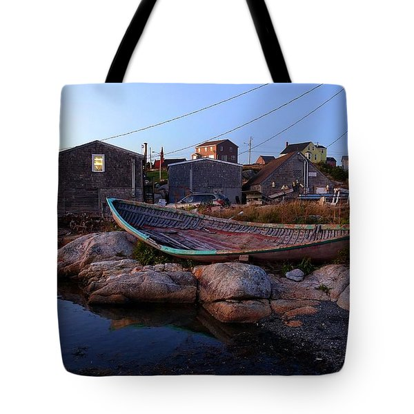 Peggy's Cove, Nova Scotia Tote Bag