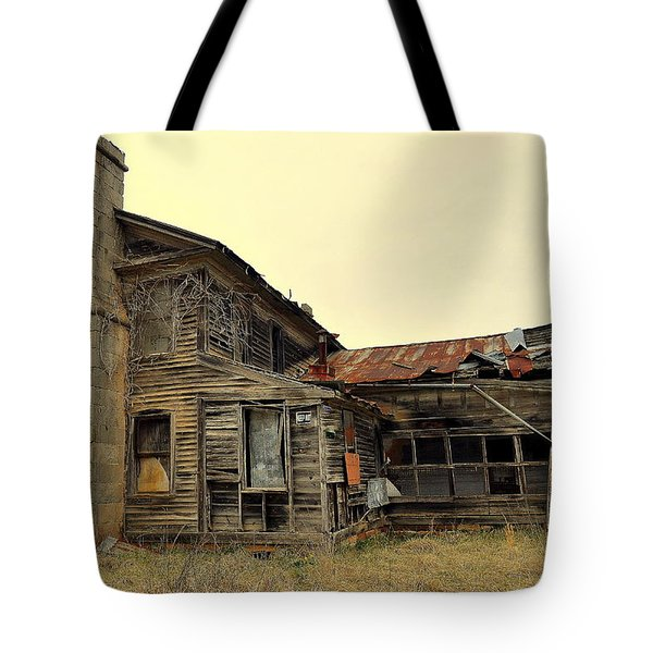 Tote Bag featuring the photograph Times Past 2 by Marty Koch