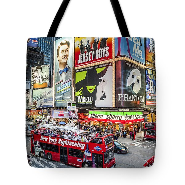 Times Square II Tote Bag