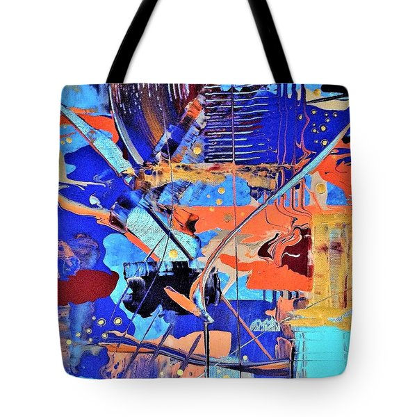 Timestorm Tote Bag