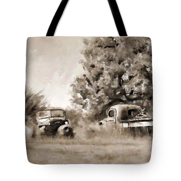 Timeworn Tote Bag