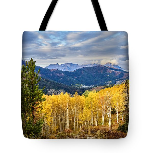 Timp Over Sandy Baker Pass Tote Bag