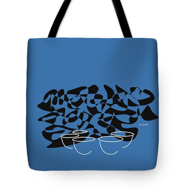Timpani In Blue Tote Bag