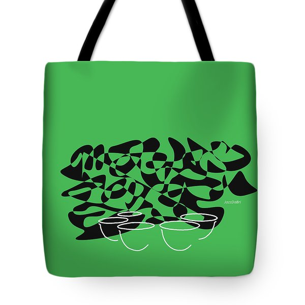Timpani In Green Tote Bag