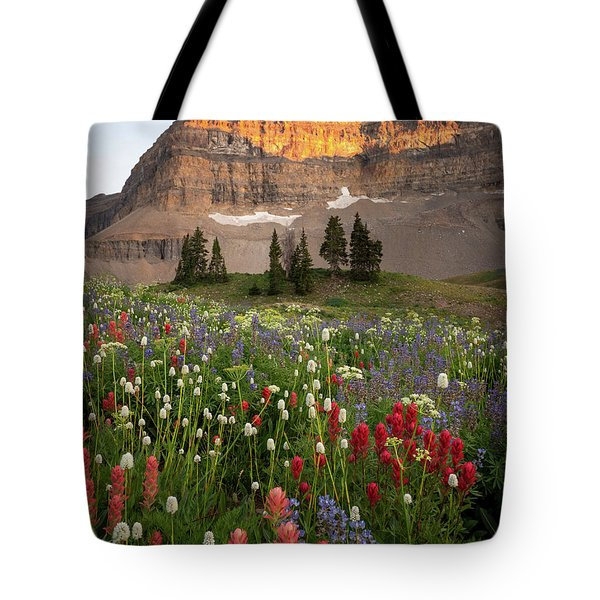 Timpanogos Bouquet Tote Bag