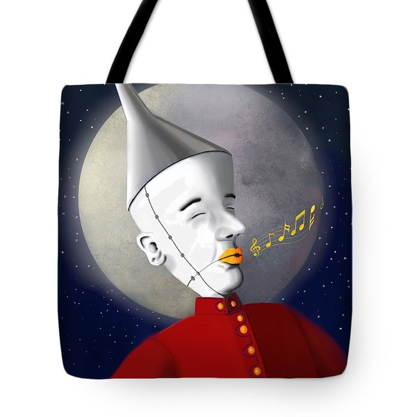 Tin Mans March Tote Bag