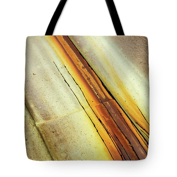 Tin Roof Abstract Tote Bag