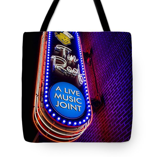 Tin Roof Beale Street Tote Bag