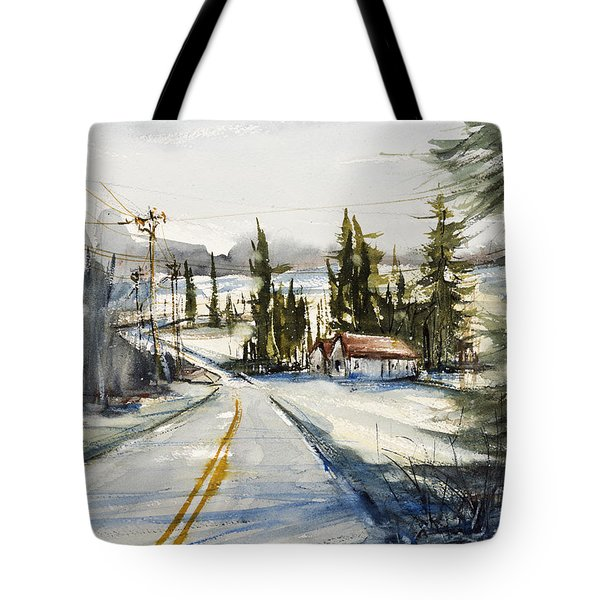 Tin Roof Rusted Tote Bag by Judith Levins