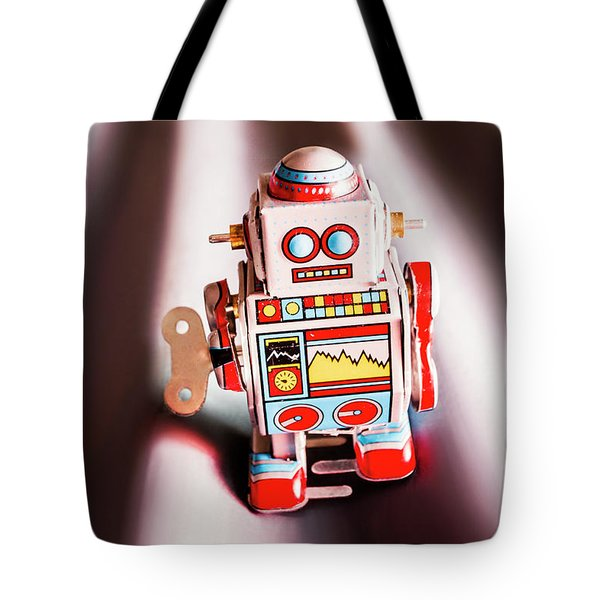 Tin Toys From 1980 Tote Bag