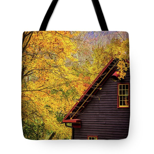 Tingler's Mill In Fall Tote Bag