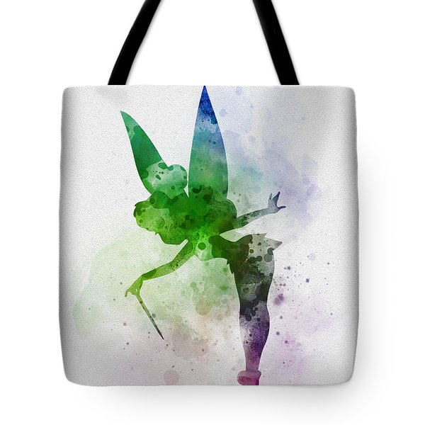 Tinker Bell Tote Bag by Rebecca Jenkins