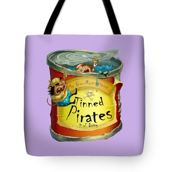 Tinned Pirates Tote Bag