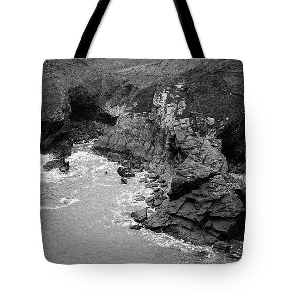 Tintagel Rocks Tote Bag
