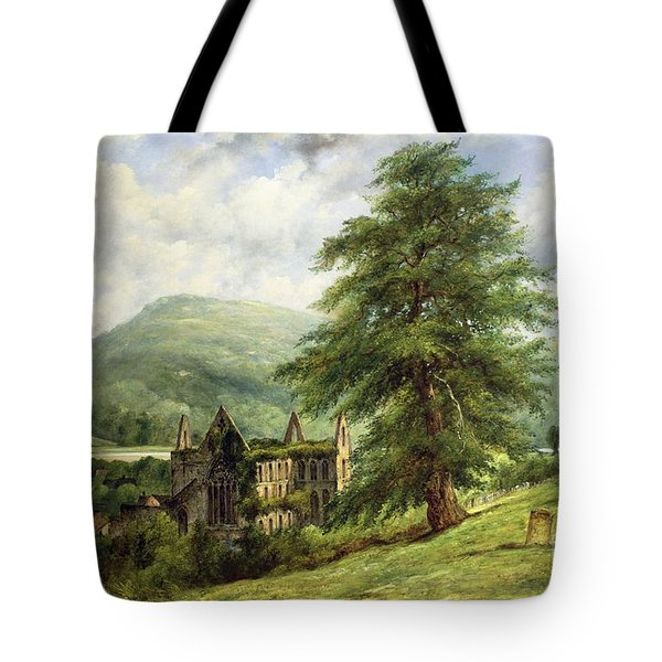 Tintern Abbey  Tote Bag by Frederick Waters Watts