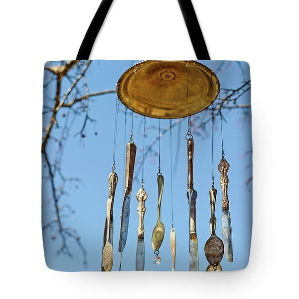 Tote Bag featuring the photograph Tintinnabulation.. by Nina Stavlund