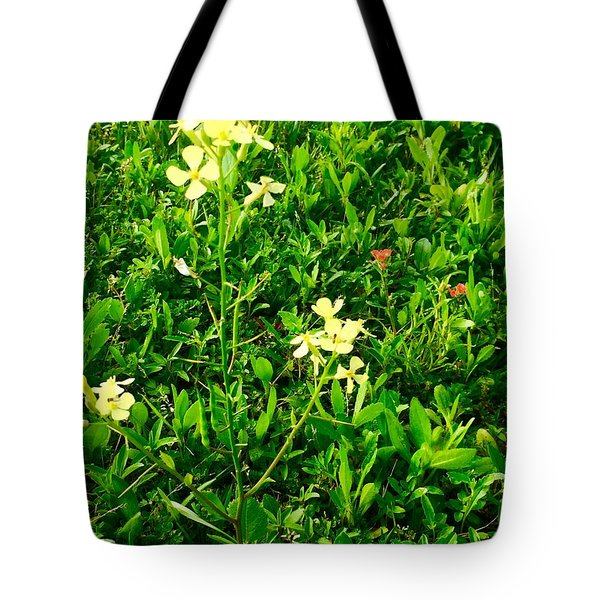Tiny Beauties Tote Bag