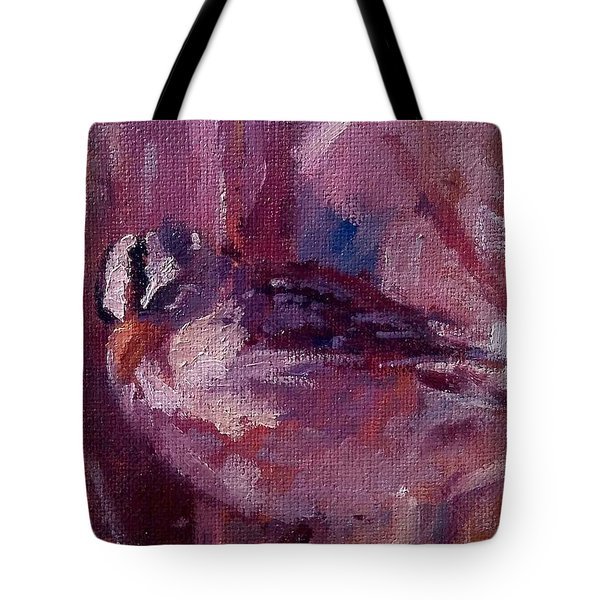 Tiny Bird Study #1 Tote Bag by Brian Kardell