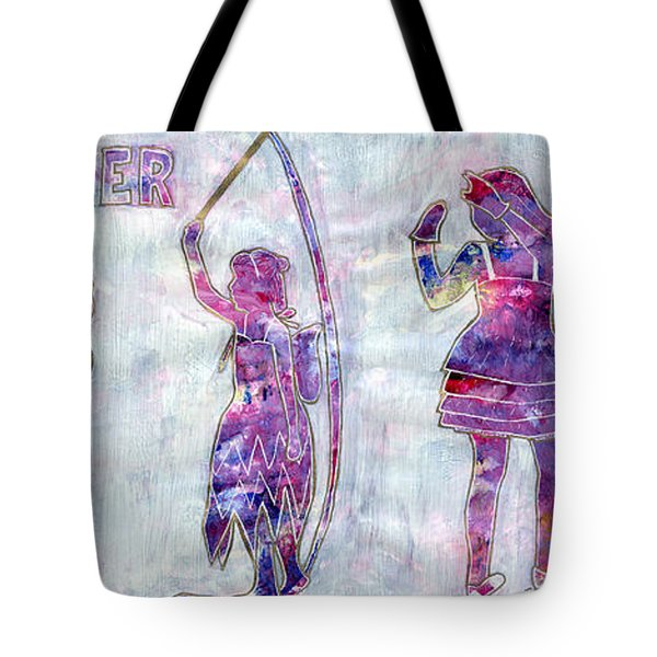 Tiny Dancer Growing Up Tote Bag