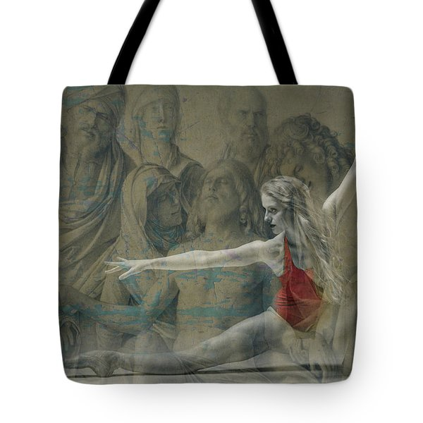 Tiny Dancer  Tote Bag by Paul Lovering