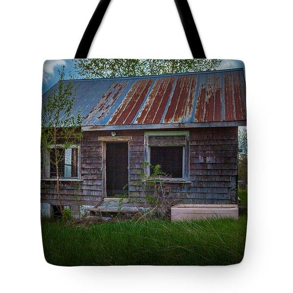 Tiny Farmhouse Tote Bag