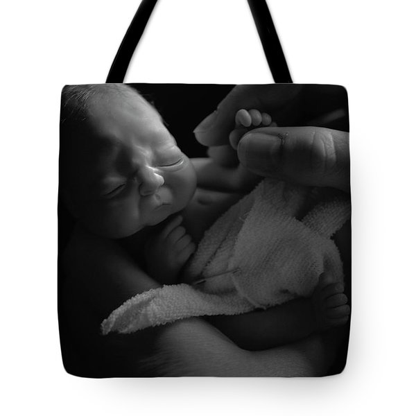 Tiny Fingers Tote Bag
