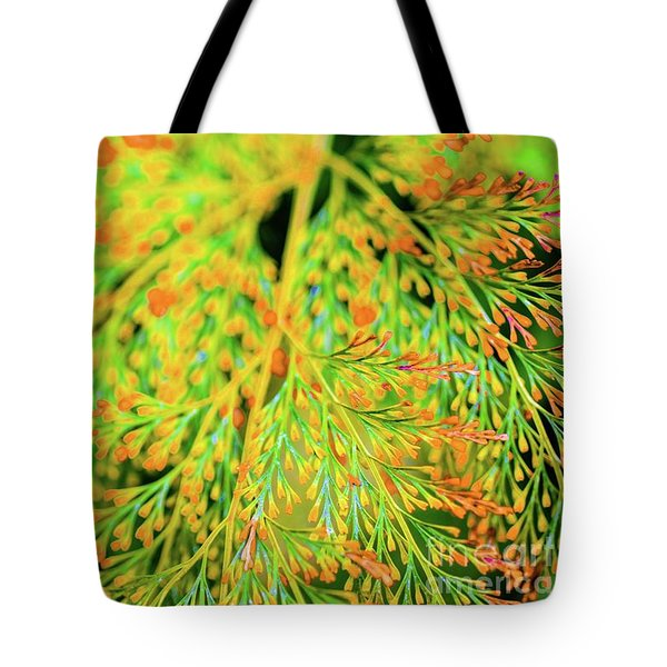 Tiny Flowers Blooming  Tote Bag