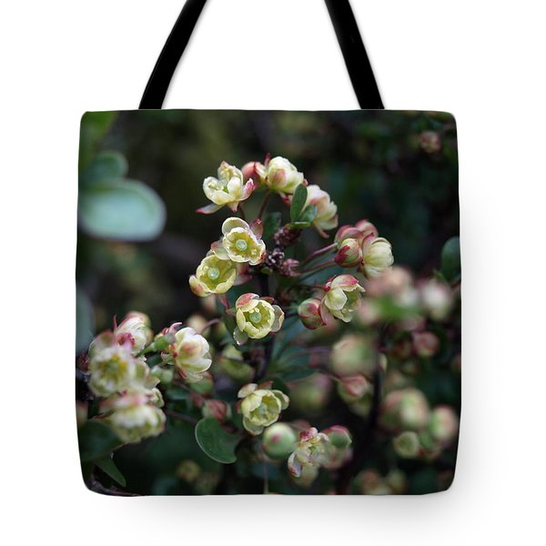 Tiny Flowers Tote Bag by Richard Brookes