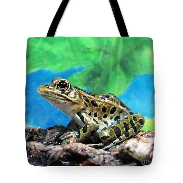 Tiny Frog Tote Bag