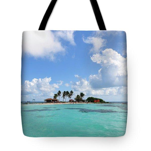 Tiny Island Tote Bag