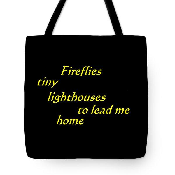 Tiny Lighthouses Tote Bag