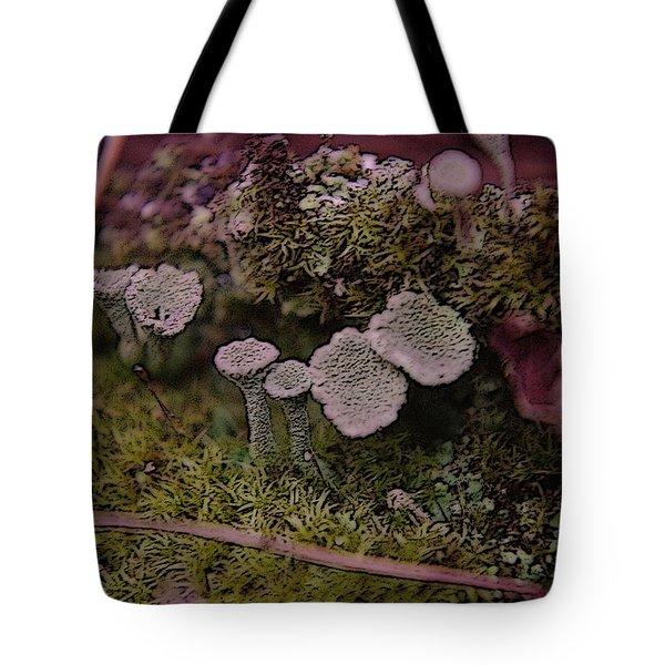 Tiny Mushrooms  Tote Bag