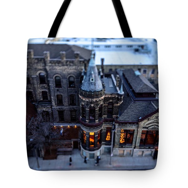 Tiny Pabst Castle Tote Bag