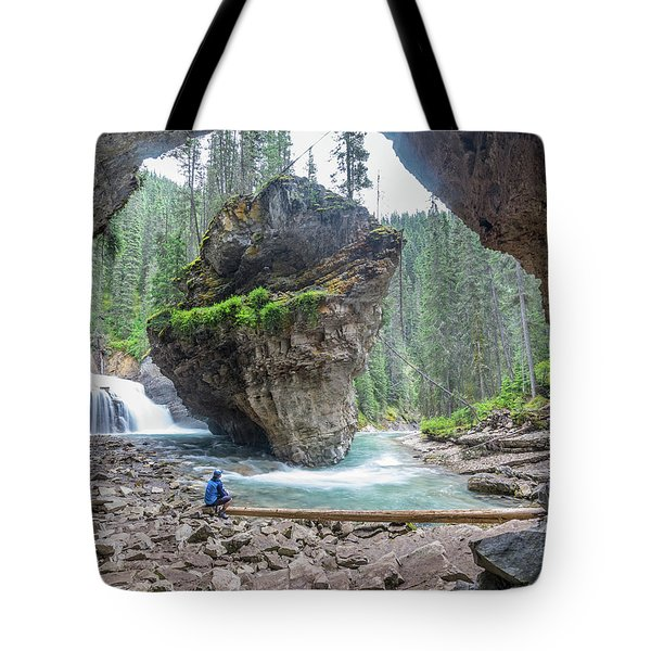 Tiny People Big World Tote Bag