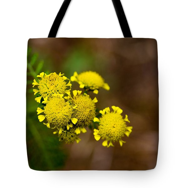 Tote Bag featuring the photograph Tiny Petals by Erin Kohlenberg