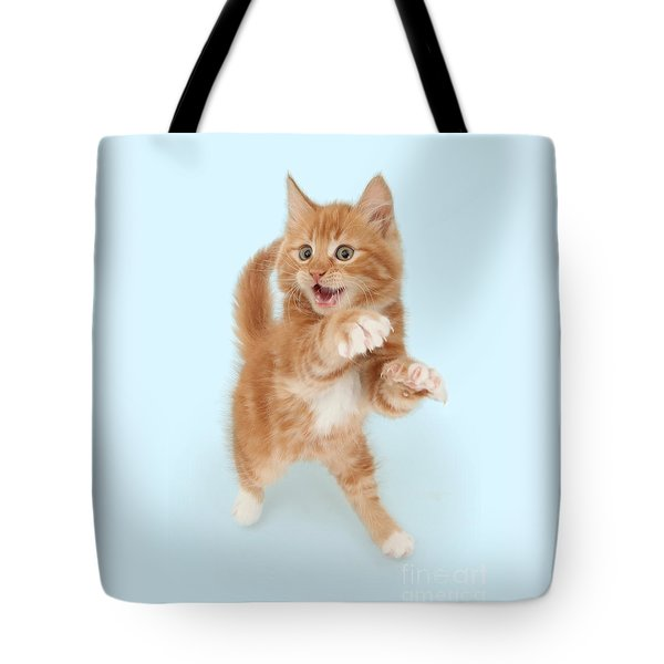 Tiny Tiger Tote Bag