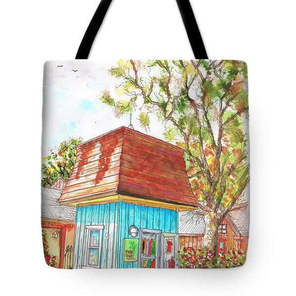 Tiny Tree Boutique In Los Olivos, California Tote Bag