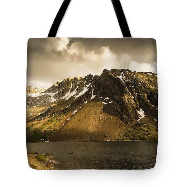 Tioga Lake In June Tote Bag