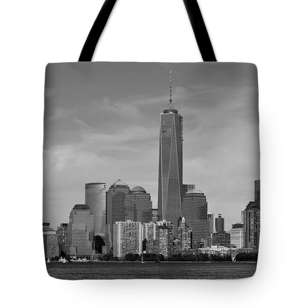 Tip Of Manhattan Tote Bag