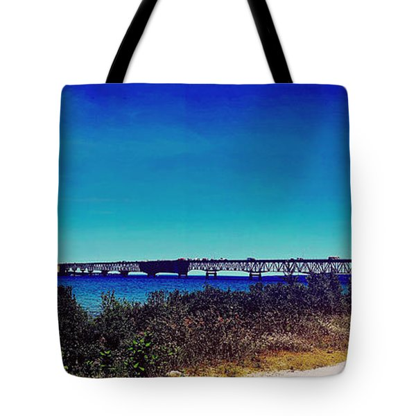 Tip Of The Mitt Tote Bag
