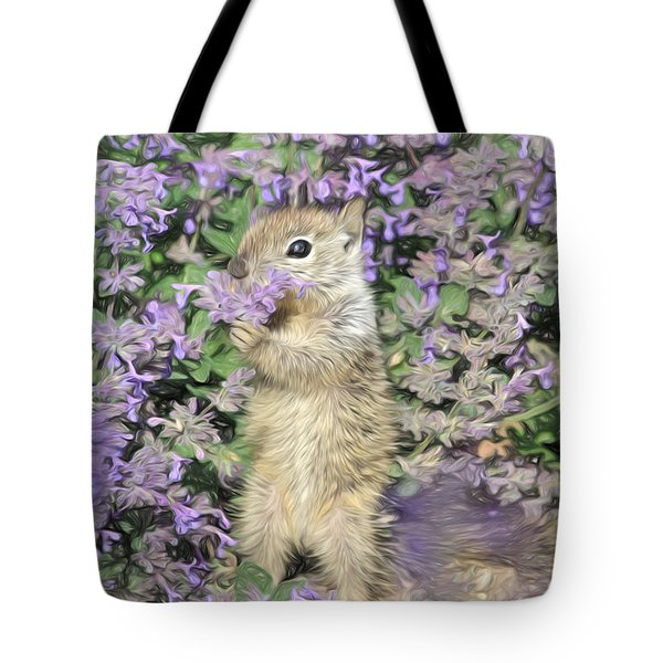 Tippy Toe Snack Tote Bag