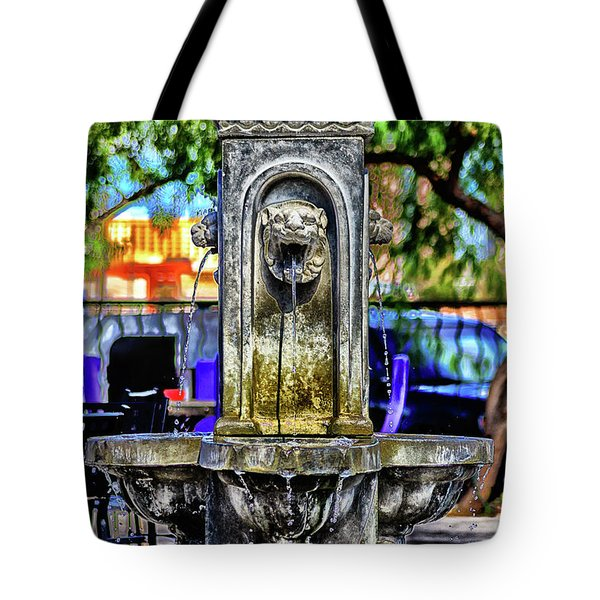 Tipsy Tote Bag by Michael Rogers
