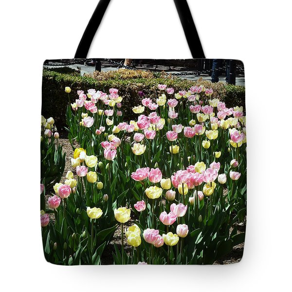 Tiptoe Through The Tulips Tote Bag