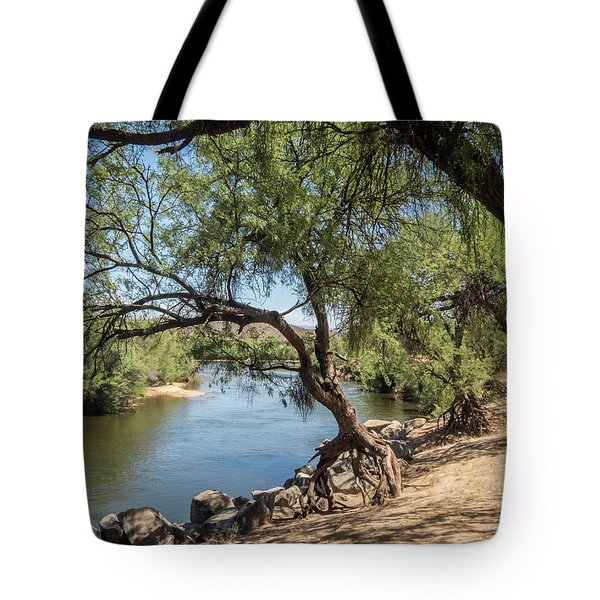 Tiptoeing Tote Bag