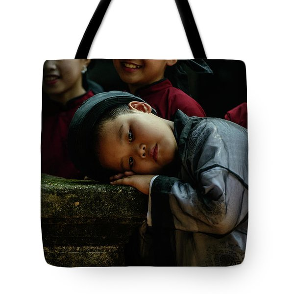 Tired Actor Tote Bag by Werner Padarin