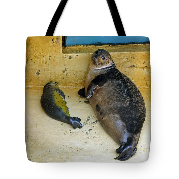 Tired Of Tourists. No Flash Photography Please.  Tote Bag